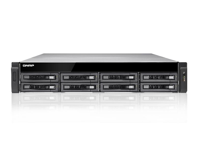 Thiết bị lưu trữ QNAP TS-EC880U-i3-8G-R2/ i3-4GE-R2