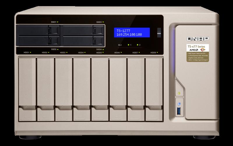 Thiết bị lưu trữ Qnap TS-1277