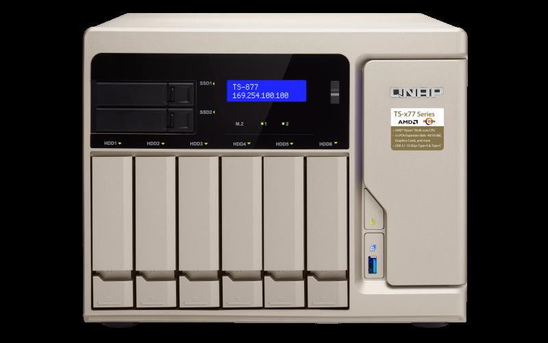 Thiết bị lưu trữ Qnap TS-877